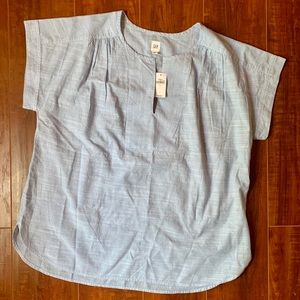 Gap Short Sleeve Popover Top